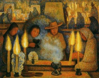 Day-of-the-Dead-(Dia-de-muertos)-1944-xx-Museo-de-Arte-Moderno-Mexico-City