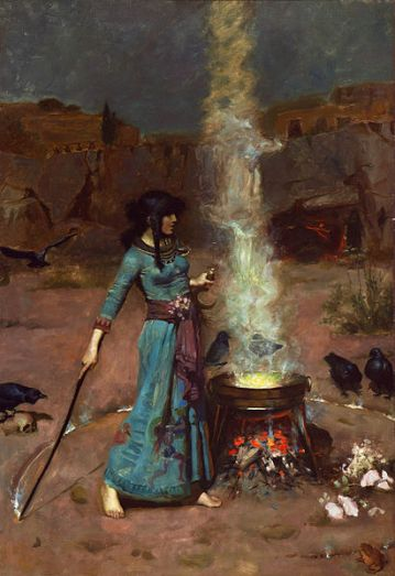 411px-The_magic_circle,_by_John_William_Waterhouse (1)
